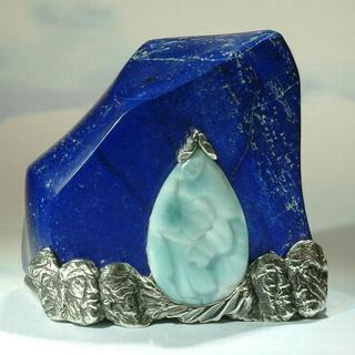 Moonlight- gem sculpture
