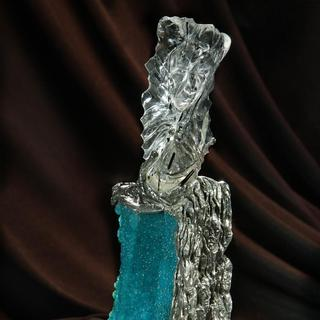 Victory Laments- gem sculpture