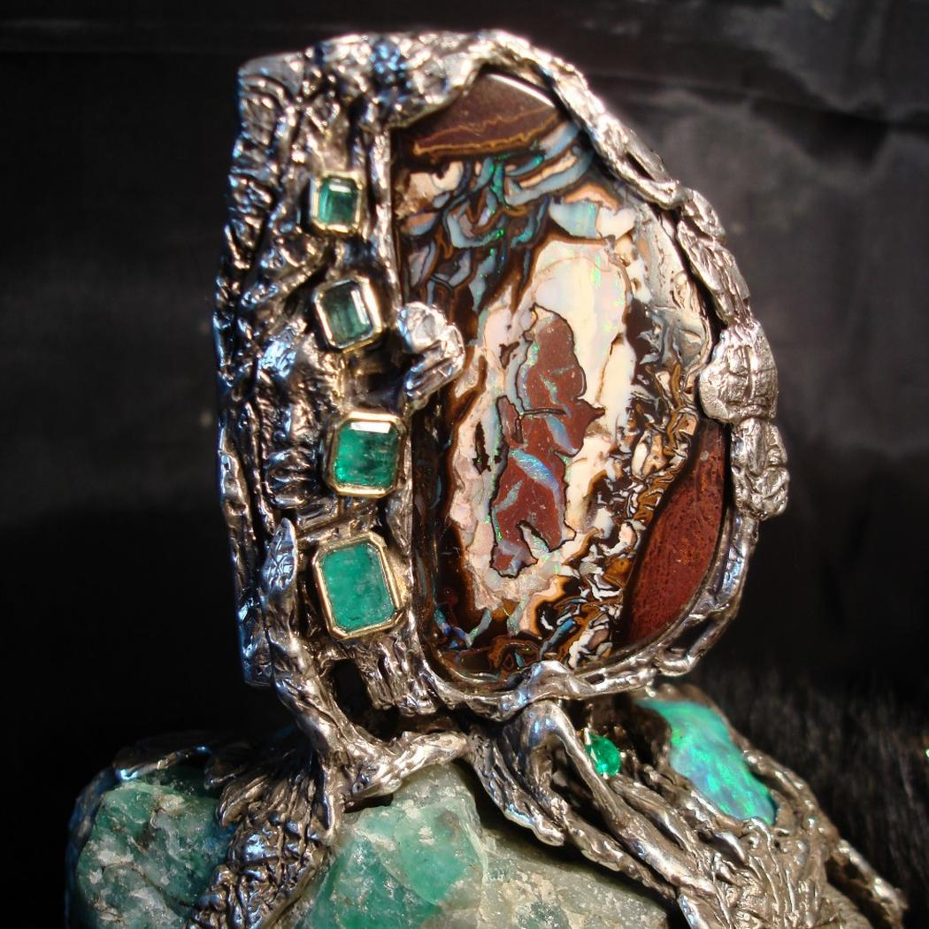 Terra Verde - sculpture & jewelry