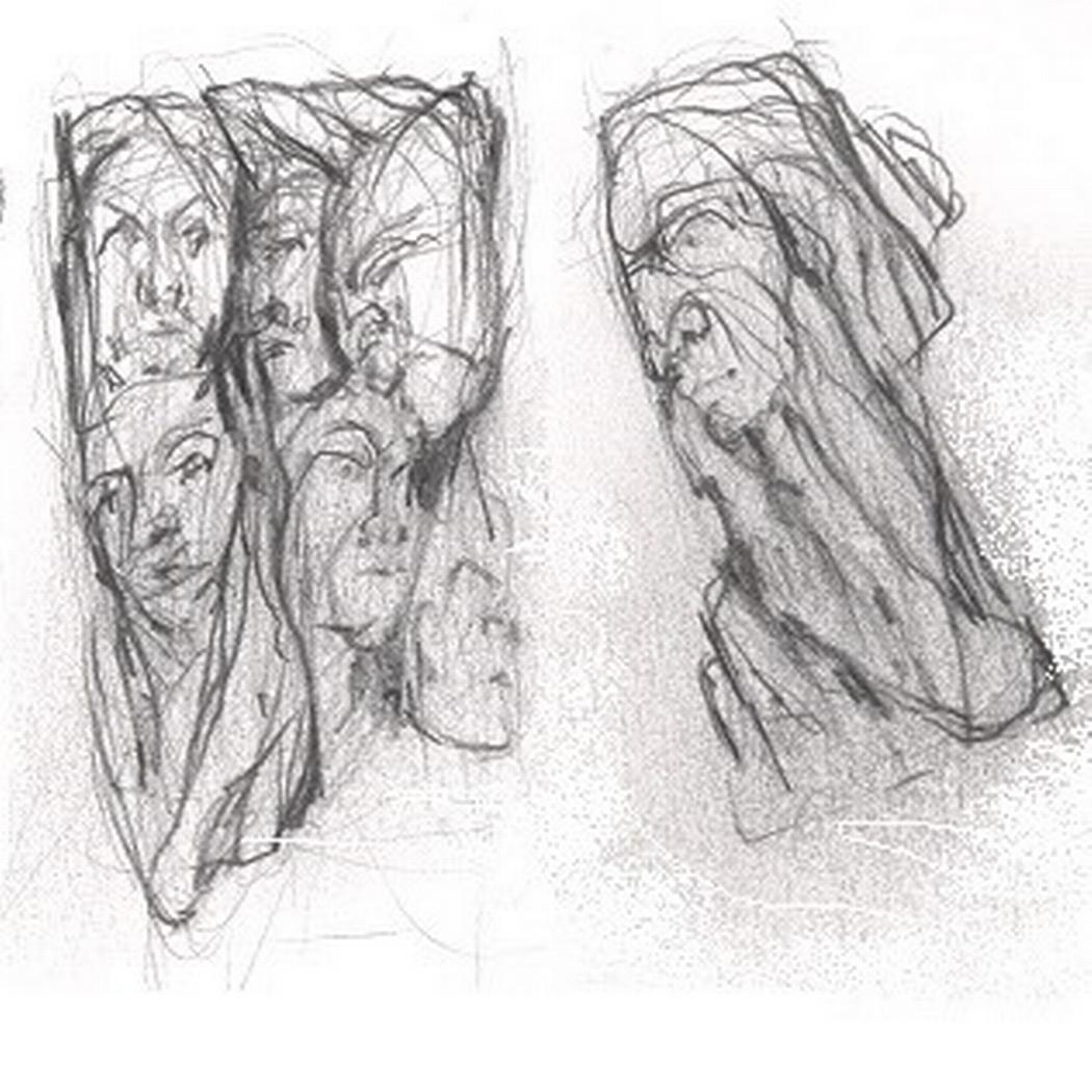 Silver Faces - Drawings