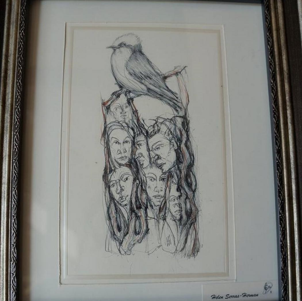 Kefalonian Bacchantes- drawing